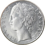 [798228] Coin Italy 100 Lire 1979 Rome Au Stainless Steel Km96.1