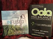 Young Living W/ Oola Infused 7 New Sealed 5ml Glass Bottles W Book Find Balance