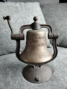 Signed Numbered Captain C W Rogers St Louis San Francisco Railroad Bell Artis...