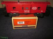 Lionel 6-19782 Nyc New York Central Bay Window Caboose 21719 W/ob