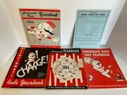 4 Cincinnati Reds Yearbooks 1963-1966 Plus 1966 Reds Hall Of Fame Ballot