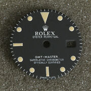 Rolex Gmt Master Oyster Perpetual Date Black Dial 27.34mm Item 95385