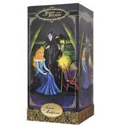 Disney Fairytale Aurora And Maleficent Limited Edition 6000 Collectible Doll Nib