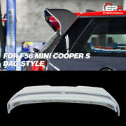 Frp Unpainted Dag Style Rear Trunk Spoiler Wing Kits 2pcs For Mini Cooper S F56