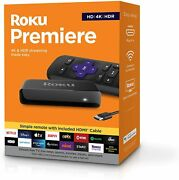 Newest Roku Premiere 3920r Hd/4k/hdr Streaming Media Playerlatest Version