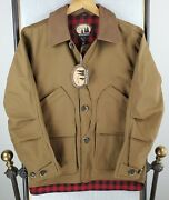 Nwt Woolrich Size Small Upland Crossover Teflon Canvas Hunting Jacket Coat 249