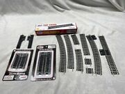 63 Piece Nickle Rail Package Plus Rail Joiners, Pier Girders, Machine Switches