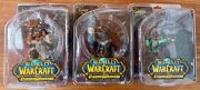 Dc Unlimited - World Of Warcraft Series 7 - Full Set Of 3 Figures