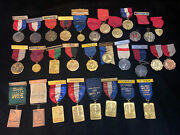 Vintage Collection Of 30 Harvard And Boston Athletic Association + Timer Medals