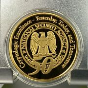 Nsa National Security Agency Cryptologic Excellence 50th Anniversary Coin