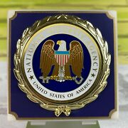 National Security Agency Nsa Marble Paper Weight 3x3x1