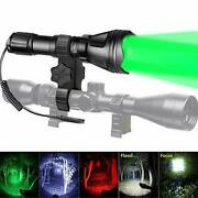 Odepro Kl52 Plus Zoomable Hunting Flashlight Red Light Ir850 Led Green White