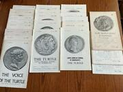 Voice Of The Turtle Ancient Numismatic Serial 23 Issues