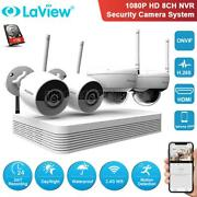 Laview 8ch 1080p Wireless Nvr Wifi Security Network Camera Surveillance System