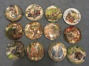 12 Wedgewood Wind In The Willows Plates