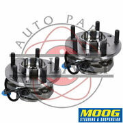 Moog New Replacement Front Wheel Hub Bearings Pair For Jimmy Blazer S10 Sonoma