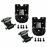 New Replacement Rear Leaf Spring Shackle And Bracket Kit Pair For Chevy Gmc 88-97
