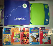 Leapfrog Leappad Learning System Lot 24 Interactive Books Cartridge Storage Case