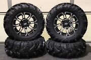 Can Am Outlander 500 27 Mud Lite Ii 14 Hd3 M Atv Tire And Wheel Kit Can1ca