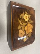 Antique Reuge Musical Jewelry Box