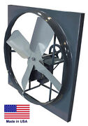Panel Exhaust Fan Belt Drive - 30 - 1 Hp 11000 Cfm - 230/460v - 3 Phase