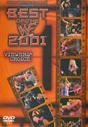 Best Of The Wwf 2001 Viewers Choice Dvd New