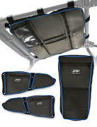 Prp Polaris Rzr Xp1000 S900 Storage Package - Roof, Door And Center Bags, Blue