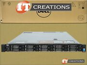 Dell Poweredge R630 10 Bay Two E5-2637v3 3.5ghz 64gb No Hdd H730