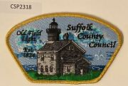 Boy Scout Suffolk County Council Old Field Lighthouse Csp Sa-46