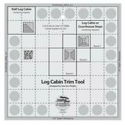 Creative Grids Quilt Ruler Log Cabin Trim Tool For 8 Finished Blocks Cgrjaw1