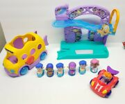 Bubble Guppies Rock N Roll Stage W/ Lights, Sound And Music, 7 Figures + Vehicles