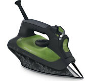 Rowenta Dw6030 New Steam Iron Eco Intelligence Anti-drip Feature Black And Green