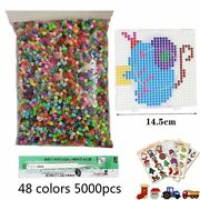 5mm Hama Beads Perler Toy Fuse For Kids Diy Handmaking 3d Puzzle Educational New