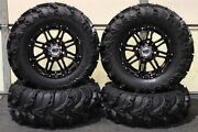 Can Am Renegade 1000 27 Mud Lite Ii 14 Hd3 Black Atv Tire And Wheel Kit Can1ca
