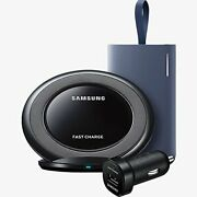 Samsung Fast Charge Power Bundle For Galaxy Battery Pack Wireless Car Charger