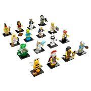 Lego 71001 Complete Set Of 16 Minifigures Series 10 New