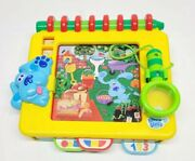 Blues Clues Handy-dandy Notebook Seek And Find Toy Tyco Retired Htf Tested
