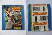 1992 Panini Tennis Stickers Pack Super Rare Sold Out Find Sampras, Agassi ++