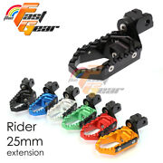 Cnc 25mm Rider Front Trc Foot Pegs For Yamaha Yzf 750 R / Sp 93-99 95 96