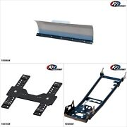 Kfiproducts - Atv Plow Kit - 60and039and039 Suzuki King Quad 750 2008 11-14 16 18-19