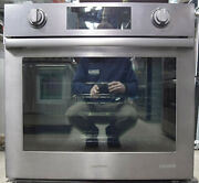 Samsung Chef Collection Nv51m9770sm 30 Electric Wall Oven Black Stainless