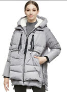 Orolay Womenand039s Thickened Down Jacket Gray Xsyrf092 New In Package