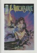 Ultimate Witchblade Collection Gold Foil Diamond Retailer, Signed And Holofoil Nm