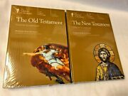 Great Courses-teaching Co The Old And New Testaments Both Dvds And Booklets