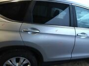 12 13 14 Cr-v Passenger Rear Side Door Electric Privacy Silver 3724547