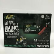 Battery Tender 12v/6v 1.25a Amp Selectable Battery Charger/maintainer Boxed New