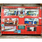 North Pole Express Christmas Animated Musical Train Set Vintage 1996 Tested
