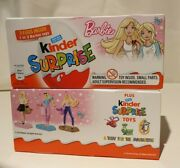 Kinder Surprise Eggs 20g Pack Of 3 Barbie Star Wars Tmnt Justice League And More