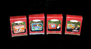 Hallmark Keepsake Ornaments Lunch Boxes Lot Of 4 New In Box Sealed