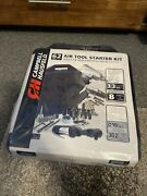 Ch Campbell Hausfeld 62pc 3.3cfm Air Tool Starter Kit At921099 New